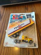 Vtg Big Rigs Moc Die-cast Metal Ho Scale Model-working Parts Pennzoil 1980and039s