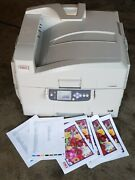 Oki C9650 Professional Digital Printer No Drums And No Cartrdges See Pictures