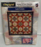 Omnigrid Vintage Log Cabin Easy To Use Rotary Cutting Templates New In Package