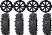 System 3 St-4 20 Wheels Blue 35 Outback Maxand039d Tires Kawasaki Mule Pro Fxt