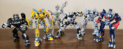Transformers 2007 Live Action Movie Robot Replicas Lot Of Six 100 Complete