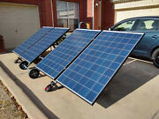 Compact Portable Foldable Solar Panel Support System