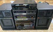 Sony Fh-150w 1987 Rare Vintage Stereo Cassette Player Boombox Amp Works