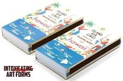 Island Air Tiki Design Cigar Large Pack Box Wooden Matches - New In Box