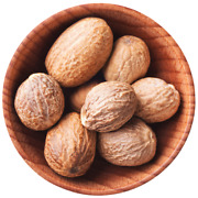 Indian Organic Whole Nutmeg Without Shell High Quality Pack Of 2kg Origin Kerala