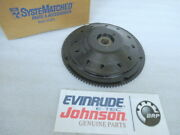 R1a Evinrude Johnson Omc 583339 Flywheel Assembly Oem New Factory Boat Parts