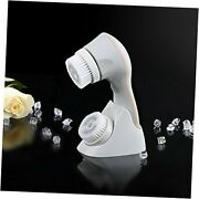 2in1 Electric Facial Cleansing Brush With Rotating Head Andoscillation Vibration