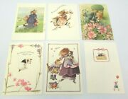 6 Assorted Vera The Mouse Hallmark Greeting Cards And Envelopes 1997 20