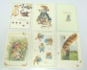 6 Assorted Vera The Mouse Hallmark Greeting Cards And Envelopes 1997 24