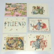 6 Assorted Vera The Mouse Hallmark Greeting Cards And Envelopes 1997 25