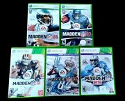 Xbox 360 Games Lot 5 Madden Nfl 06 07 12 13 25 1989-2014