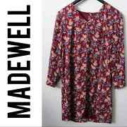 Madewell Antique Floral Button Back Dress