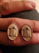 Vintage Delco Remy Advertising Large Cufflinks