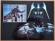 Dave Prowse Signed 16x12 Photo Display Star Wars Darth Vader