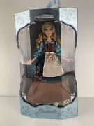 """Disney Store Limited Edition Cinderella Rags Doll 70th Anniversary 17"""""""