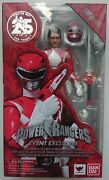 Sh Figuarts Event Exclusive Mighty Morphin Power Rangers Red Ranger Sealed