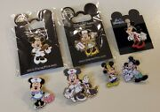 Disney🎡minnie And Mickey Mouse Nurse Doctor's Day Collector Pin Lot Rare🎡new