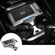 Wireless Car Charger Phone Fast Charging Center Console For Bmw X3 X4 G01 G02