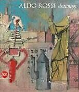 Aldo Rossi Drawings By Germano Celant And Diane Ghirardo - Hardcover Excellent