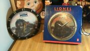 Lionel Train Collectible 11 Train Clocksounds1996works Greatrarevg