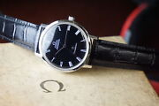 Omega Automatic Menand039s Constellation St167.754 Chronometer Black Dial J014
