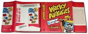 Wacky Packages Coffee Table Book 2008 1st Edition 2nd Print Dust Jacket Only