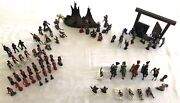 Vintage Toy Figures - Cowboys/indians, Knights, Soldiers, Scottish And British