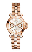 Guess Collection Gc Women's Sport Chic Rose Gold Mother-of-pearl Face 42mm Watch