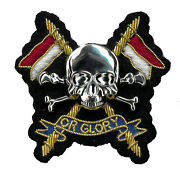 The Royal Lancers Officers - Hand Embroidered British Army Beret Badge