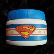 Thermos 8oz Superman Snack Jar Insulated Cold Snack Thermos