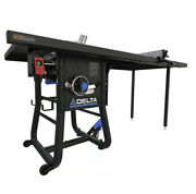 Obo Delta 36-5152t2 15 Amp 52 In. Contractor Table Saw W/ Cast Ext Local Pickup