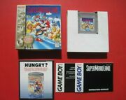 Mario Land Playerand039s Choice Game Boy Complete With Box Manual Inserts Nice