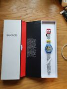 Swatch Keith Haring Electric Mickey Limited Edition Of 2000 New Boxed