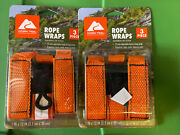 Lot Of 2 - 3 Piece Ozark Trail 1 X 12 Dock Rope Wraps 6 Total Cords Hoses
