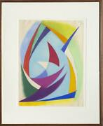 Benjamin Benno Untitled 15 Pastel On Paper Signed And Dated Lower Left
