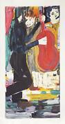 Donna Summer Jazz Man Lithograph Signed And Numbered In Pencil