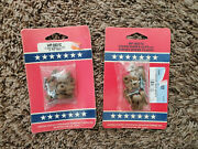 Ush Storm And Window Clips 8 On Card Wp-8831c Lot Of 2 Cards 16 Total-new