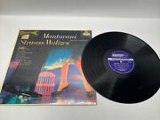 Mantovani And His Orchestra Strauss Waltzes London Records Ps 118
