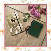 3pc Journal Butterfly Notebook Diary Writing Set Spell Boho Recipe Magnet Gift
