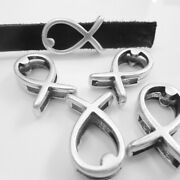 Slider Beads Fish Antique Silver Charms Diy Jewelry Crafting Accessory 10 Pieces