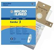 Dvc Eureka Style J 61515c Micro Allergen Vacuum Cleaner Bags Made In Usa [ 300 B