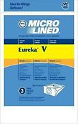 Dvc Eureka Style V Micro Allergen Vacuum Cleaner Bags Made In Usa [ 300 Bags ]