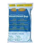 Envirocare Replacement Vacuum Bags For Riccar 2000, 4000 And Vibrance Series. Si