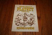 Plastic Figure/playset Collector Magazine Pfpc 61 - Mpc And Carzol Ringhands