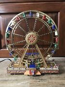 World's Fair Ferris Wheel Gold Label Collection Works In Box Mr Christmas