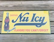 Nugrape Soda A Flavor You Can't Forget Metal Sign Man Cave Pop Advertisement