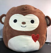 Squishmallow 16andrdquo Momo Brown Monkey 2020 Rarenew With Tagsfree Shipping
