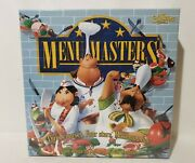 New Menu Masters - Chef/cooking Board And Card Game - Calliope Games