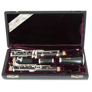 Brand New Yamaha Clarinet - Ycl 650 In Silver Plate - Ships Free Worldwde