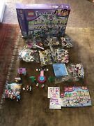 Lego Friends Heartlake Shopping Mall 41058 - 99 Complete With Box